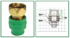 Socket with loose nut Practo